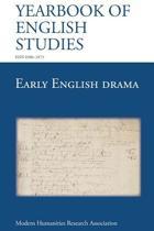 Early English Drama (Yearbook of English Studies (43) 2013)