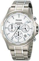 Pulsar Pt3211X1 - Horloge - 40 mm - Zilverkleurig