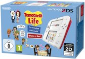 Nintendo 2DS Wit+Rood - Tomodachi Life - 2DS