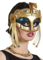 Egyptische koninginnenmasker voor vrouwen - Verkleedmasker - One size