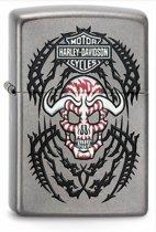 Aansteker Zippo Harley Davidson Skull