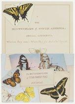 Butterflies of Titian Ramsay Peale Journal