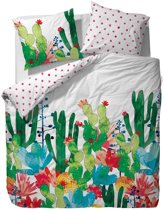 Covers & Co Cactus Dekbedovertrek - 200x200 + 2x 50x75 cm - Multi