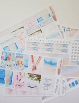 Planner stickers ,Weekly kit Beach Wedding