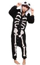 Skelet Onesie Verkleedkleding - Volwassenen & Kinderen - S (145-159 cm)