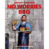 Boek cover Smokey Goodness No Worries BBQ van Jord Althuizen (Hardcover)