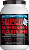 VitaLIFE Super Weight Gainer Aardbei - 1000 gr - Drinkmaaltijd