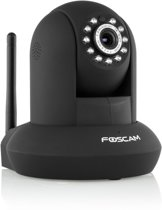Foscam FI9831P - WiFi HD Indoor Camera Plug&Play + SD-opname - Zwart