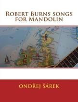 Robert Burns Songs for Mandolin