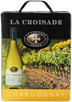 La Croisade Chardonnay Witte Wijn Box 3 Liter