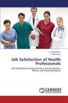 Job Satisfaction of Health Professionals