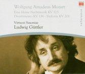 Mozart: Eine kleine Nachtmusik; Divertimento KV 136; Symphonie KV 201