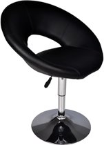 vidaXL - Barkruk Barkruk New York zwart (laag) 60325