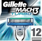 Gillette Mach3 Turbo - 12 Stuks - Scheermesjes