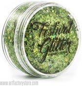 Festival Glitter Glittergel - - Envy Green