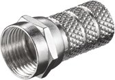 S-Impuls Schroef F-connector voor 5,2mm kabel / recht