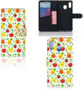 Samsung Galaxy M20 Book Cover Fruits