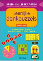 Deltas Speel- en leerkaarten - Leerrijke denkpuzzels (vanaf 9 jaar)