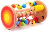 Afbeelding van Jouéco Houten Rollende Kralenbaan speelgoed