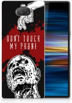 Sony Xperia 10 TPU Hoesje Design Zombie Blood
