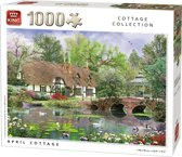 Generic 1000 stukjes April Cottage