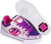 Heelys Rolschoenen Motion Drip- Sneakers - Kinderen - Maat 40.5 - Zilver/Paars