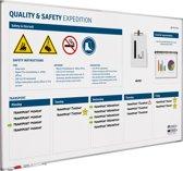 Quality & Safety Board softline profiel NL-120x200 cm