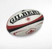 Gilbert Officiel Replica Rugbybal Canada maat 5