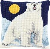 kruissteekkussen 003.283 ijsbeer