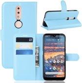 Nokia 4.2 Hoesje - Book Case - Lichtblauw