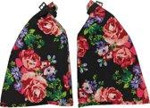 Basil Blossom Roses 50342 - Handwarmers Set - Zwart / Wit