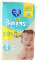 Pampers Premium Protection Luiers - Maat 2 - 41 stuks
