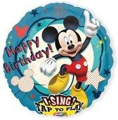 Folieballon Mickey Mouse Sing-A-Tune XL