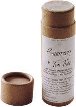 Natuurlijke Deodorant Stick (Tea Tree + Rozemarijn) 100% Vegan