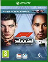 Cover van de game F1 2019 (Formule 1) Anniversary Edition - Xbox One