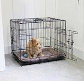 Adori Hondenbench - Zwart - M - 76 x 48 x 54 cm