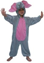 Pluche olifanten kostuum kinderen 128
