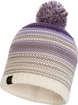 KNITTED & POLAR HAT BUFF - NEPER VIOLET