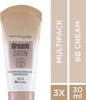 Maybelline Dream Fresh BB Cream  - 03 Light Medium - 3 stuks Voordeelverpakking