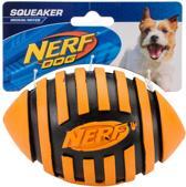 Nerf - Spiral Squeaker Football - oranje- medium