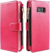 Xssive Wallet Book Case met Ritsvak voor Samsung Galaxy S10e - Pink