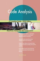 Code Analysis A Complete Guide - 2020 Edition