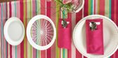6  witte paperplateholders - eetmandjes - picknickbord - BBQ bord - party bord - Smartplates