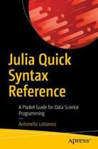 Julia Quick Syntax Reference