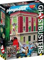 PLAYMOBIL Ghostbusters™ Brandweerkazerne  - 9219