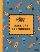 Race Car Sketchbook