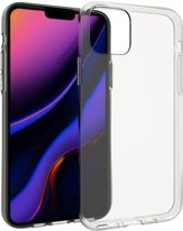 Accezz Clear Backcover iPhone 11 hoesje - Transparant