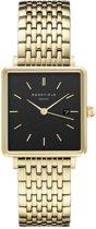 Rosefield The Boxy Dames Horloge - Goud - QBSG-Q017
