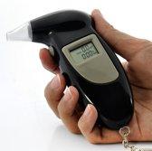 Alcohol tester- Blaas test- LCD scherm- Sleutelhanger- professioneel gebruik- Ademtester geschikt voor Frankrijk