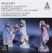 Mozart: Concertos for Flute & Harp, Oboe, Clarinet / Harnoncourt et al